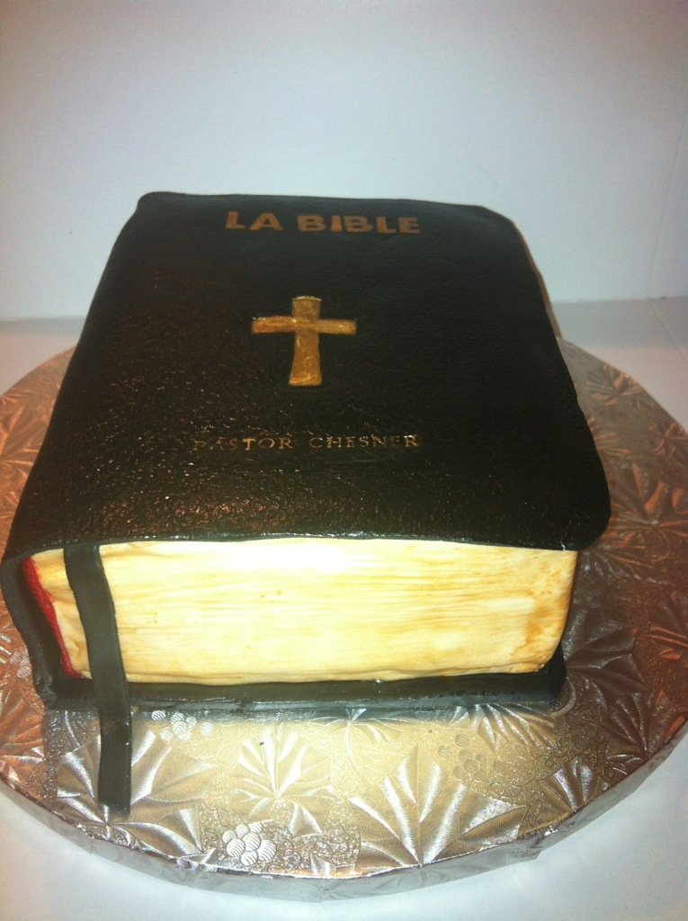 Bible Cake | Touch of Grace Cakes